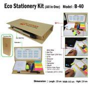 B -40 Eco-Stationery-Kit