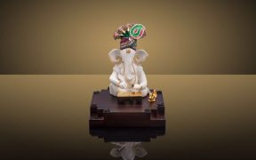 Ganesh mounted on base