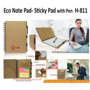 H 811 - Eco Pad with Pen