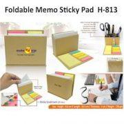 H 813 - Foldable Memo Sticky Pad