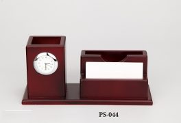 PS-044-8003-WOOD PEN STAND
