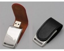 SK Premium Leather Pen Drive