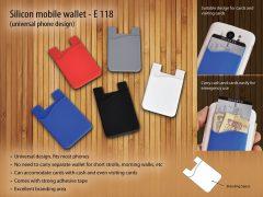 Silicon Mobile Wallet E 118