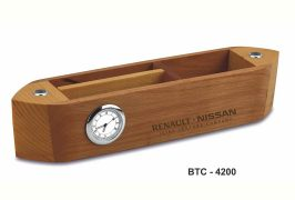 Wooden boat shaped stand BTC 4200